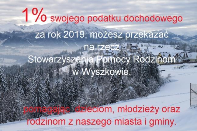 1% PODATKU DOCHODOWEGO